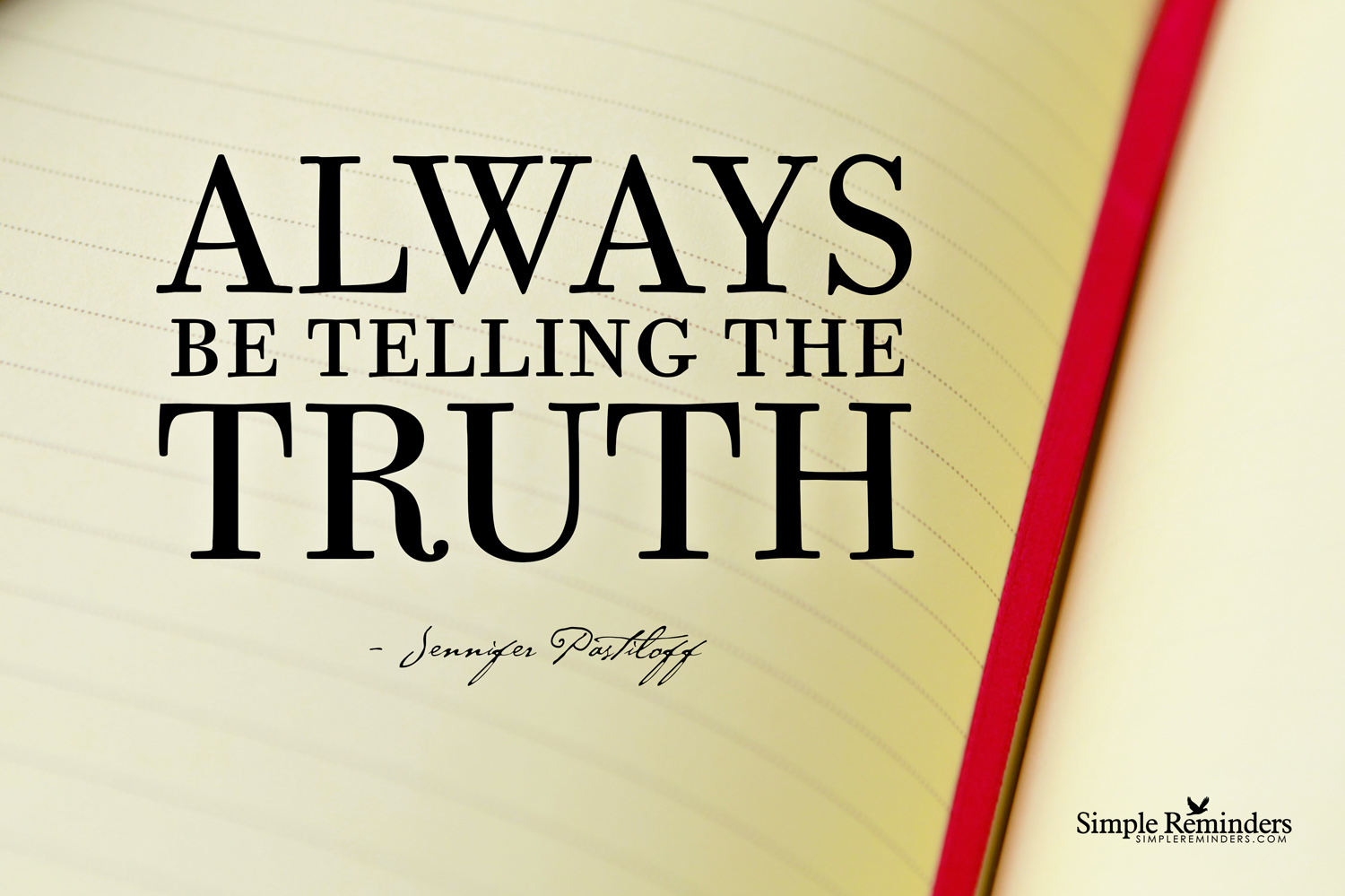 On Telling the Truth.