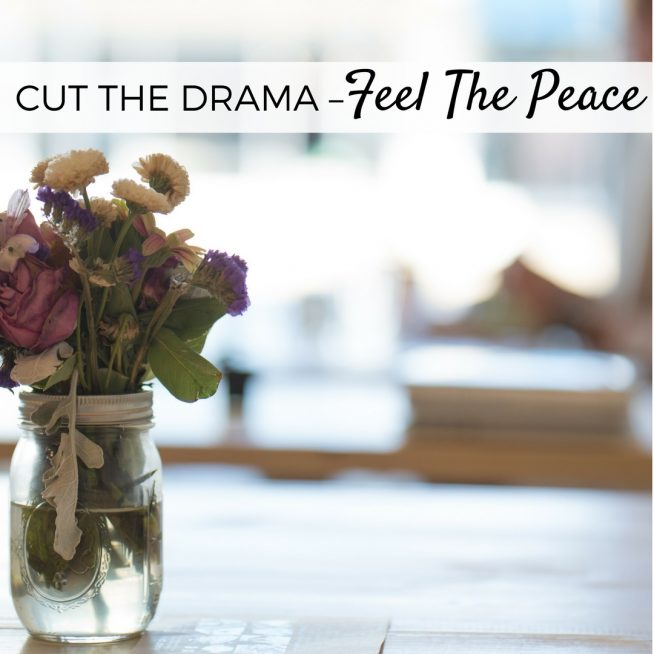 Cut the Drama – Feel the Peace