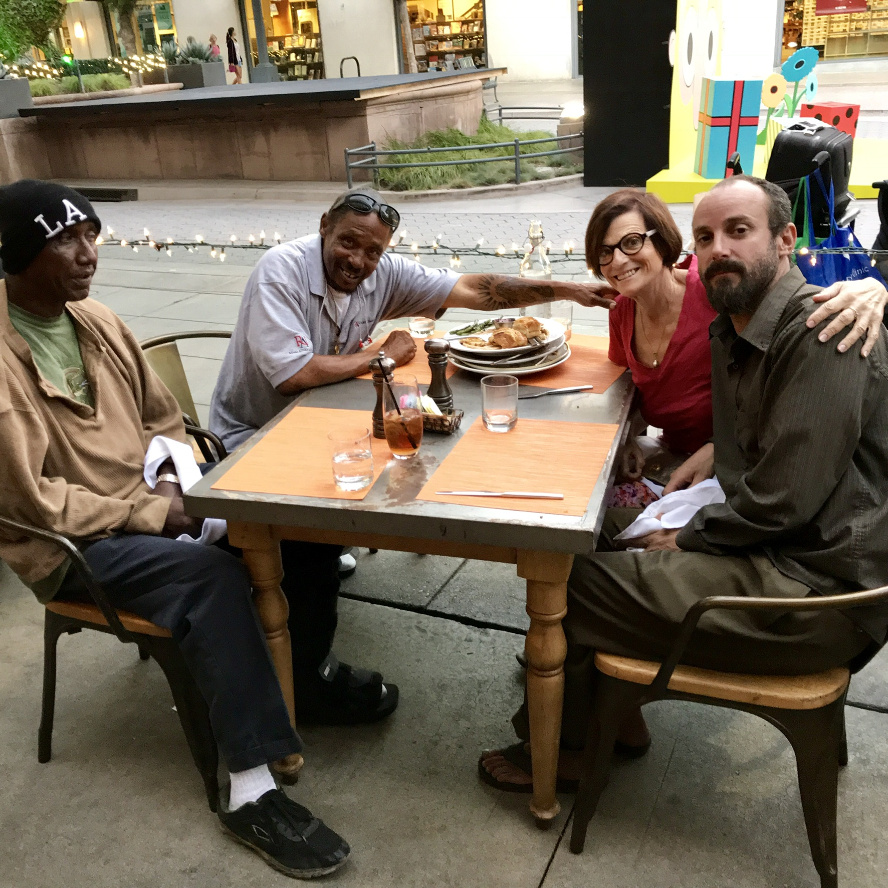 Lunches with the Homeless